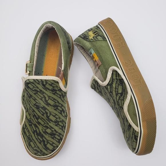 L.A.M.B. Shoes - L.A.M.B. Royal Elastic Collaboration Slip On Sz 7